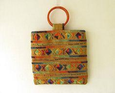 Vintage Embroidered Purse
