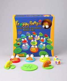 Take a look at this Froggy Boogie by Blue Orange on #zulily today!