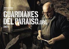 """Anuncio de campaña Teaser """"Guardianes del Paraíso"""". Antonio Díaz, navajero #Taramundi  #etnografia #cultura #ParaísoNatural"""