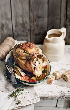 Poulet Roti Roast Chicken with Watercress