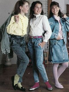 1980s Fashion: Women & Girls | Styles, Trends &  #retro aesthetic fashion #fashion valley #fashion valley mall hours
