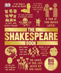 The Shakespeare Book is the perfect primer to the works of William Shakespeare, packed with witty illustrations and inspirational quotes. This bold book covers every work, from the comedies of Twelfth Night and As You Like It to the tragedies of Julius Caesar and Hamlet, plus lost plays and less well-known works of poetry.