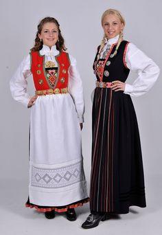 Nord Hordland Sons Of Norway, Oslo, Norwegian Clothing, Scandinavian Embroidery, European Costumes, Ethnic Fashion, Womens Fashion, Beautiful Norway, Folk Costume