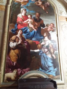 Painting in the San Carlo alle quattro fontane