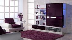 deko wohnzimmer lila super elegante wohnzimmer als vorbilder moderner ...