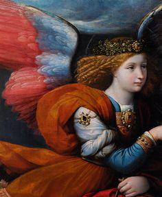 Benvenuto Tisi Annunciation (1528)                                                                                                                                                                                 More