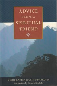 Advice from a Spiritual Friend by Geshe Rabten & Geshe Dhargyey Meditation Books, Friend Book, Free Advice, Taoism, Slogan, Verses, Books To Read, This Book, Ebooks