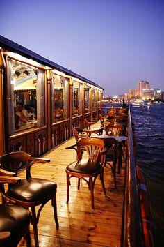 Dinner boat on the Nile, Cairo, Egypt