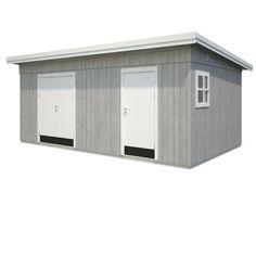 Palmako redskabsrum Kalle 16,9 Garden Living, Bauhaus, Shed, Loft, Outdoor Structures, Architecture, Garage, Design, Patio