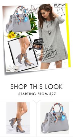 """""""ROMWE 5 / IV"""" by ozil1982 ❤ liked on Polyvore featuring Post-It and Bobbi Brown Cosmetics"""