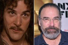 "Mandy Patinkin - Played Montoya in, 1987's ""Princess Bride"" and ""Criminal Minds"" Jason Gideon, 2005-2007."