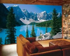 Con una simple foto podemos crear ambientes diferentes www.objetivo3-0.com Wall Murals