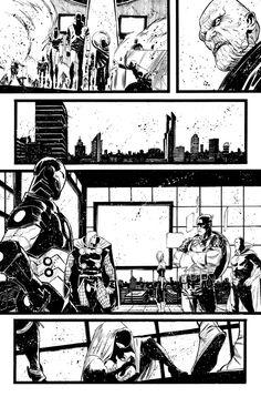 SECRET AVENGERS 35 - page 15 by MatteoScalera on DeviantArt