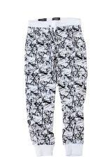 Knit Printed Drawstring Jogger Pants