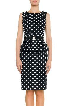 #SIMPLE #dress #belt #dots #dress #Labelsshop