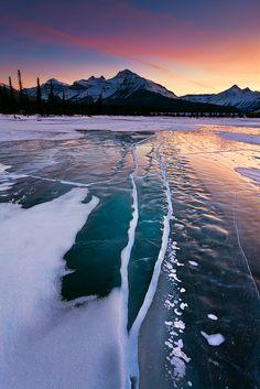 Saskatchewan River, Alberta, Canada