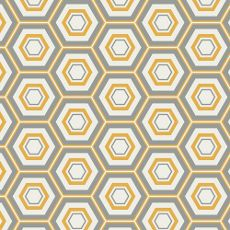 "AGFMNL300  -  Minimalista Hexa Honeycomb - Art Gallery Fabric 44""/45"" Per Metre"