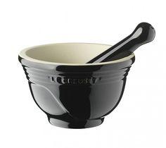 Keittiövälineet ja tarvikkeet ruoanlaittoon - Kori - Le Creuset, Mortteli musta