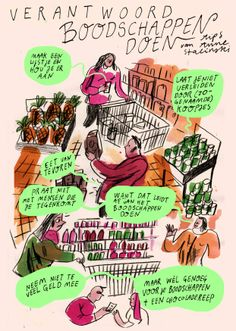 Doing groceries in a responsible way. personal Project