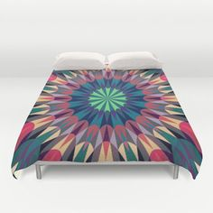 Duvet Cover Cool Warmth Retro Duvet by 2sweet4wordsDesigns on Etsy