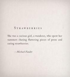 "michaelfaudet:  ""Strawberries by Michael Faudet  """