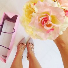Studded Valentino Pumps {perfect for spring}