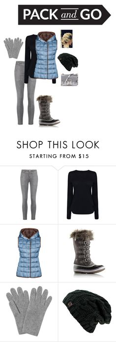 """Pack and Go!"" by ninjakittyk on Polyvore featuring Current/Elliott, Helmut Lang, FAY, SOREL, L.K.Bennett and Proenza Schouler"
