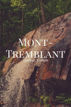 Pourquoi pas une petite escapades dans les Laurentides, situé à 2 heures de Montréal? On vous propose ici une superbe randonnée au Mont-Tremblant! (Québec, Canada)