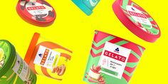Gelato Ice Cream Packaging