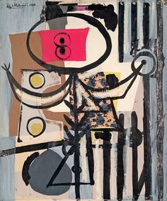 Robert Motherwell, Early Collages, Other - Peggy Guggenheim Collection, Venezia, Italy