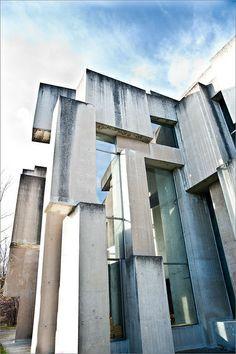 Modern Architecture Vienna brutalist architecture—masterpiecesarchitects le corbusier