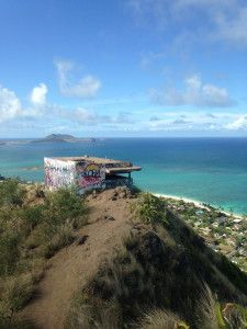 Lanikai Pillboxes Hike on Oahu, Hawaii: Nice hike overlooking Kailua Beach and Lanikai Beach.  Beautiful photo opportunities of the Mokulua Islands. Million dollar views! After the hike stop by Island Snow Hawaii for a shave ice! Visit us online as well at www.islandsnow.com