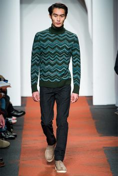 I adore these colours and a fabbo chevron pattern | missoni - fall 13
