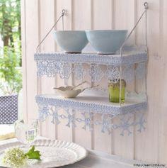 Home ideas_Shelf_Crochet