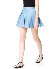 PLEATED MINI SKIRT - Skirts - Woman - New collection | ZARA Philippines