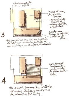 Image 1 of 17 Gallery Building MOP Rancagua / Iglesis Prat Arquitectos + Tau 3 Architects. Architecture Concept Drawings, Architecture Student, Sustainable Architecture, Interior Architecture, Container Architecture, Arch Model, Exhibition Stand Design, Design Process, Planer