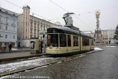501 Linz Hauptplatz 04.01.2011 - Bombardier Flexity Outlook - Pöstlingbergbahn