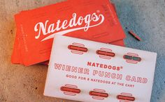 Wiener Punch Card for Natedogs