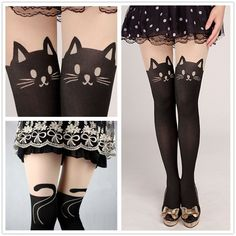 Winter's coming and you're looking for the perfect combination of sexy and comfortable. Seek out the coverage of pantyhose with the style of thigh-highs with a pair of pattern pantyhose. These printed                                                                                                                                                                                 More