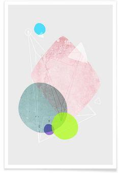 Graphic 123 als Premium Poster von Mareike Böhmer | JUNIQE