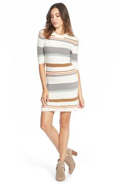 Element Stripe Knit Dress available at #Nordstrom