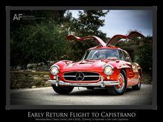 Return Flight of 300SL, San Juan Capistrano