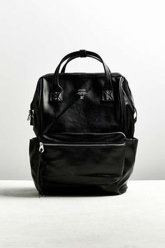 Slide View  1  anello Faux Leather Square Backpack Messenger Bag, Urban  Outfitters, c0bbe77d89