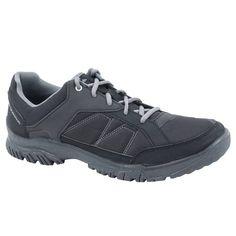 e92eb41b04e Zapatillas de montaña y senderismo naturaleza NH100 negro hombre