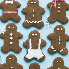 Gingerbread People: Funny, mine don't look anything like this.