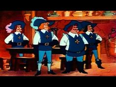Три мушкетера. Полнометражный мультфильм - YouTube Howard Charles, Luke Pasqualino, Tom Burke, Musketeers, 3d Animation, Captain Hat, Cartoons, Films, Kids