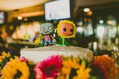 wedding cake toppers, plant, zombie wedding, wedding cakes, zombie cakes, zombi cake