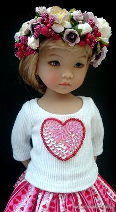 Весна... цветы, мой маленький цветок Ивонн от Geri Uribe / Коллекционные куклы Дианны Эффнер, Dianna Effner / Бэйбики. Куклы фото. Одежда для кукол