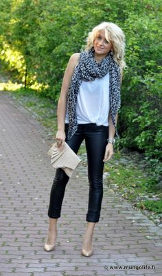 I just really want a pair of leather pants!