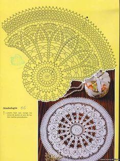"Photo from album ""Muestras y Motivos Especial Panos on Yandex. Crochet Doily Patterns, Thread Crochet, Filet Crochet, Crochet Motif, Crochet Doilies, Hand Crochet, Knitting Patterns, Crochet Coaster, Paper Doilies"